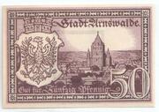 50 Pfennig (Arnswalde) – avers