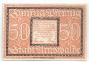 50 Pfennig (Arnswalde) – revers
