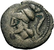 Diobol (Arpi) – avers