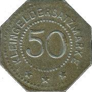 50 pfennig - Artern – revers