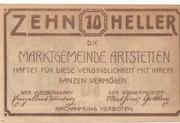 10 Heller (Artstetten) – revers