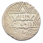 Dirham - Najm al-din Ghazi I (Struck after the assassination of the Abbasid al-Musta'sim) – avers