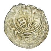 Akçe - al-Zahir 'Isa (Mardin mint) – revers