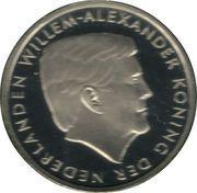 2½ Florin - Willem-Alexander – avers