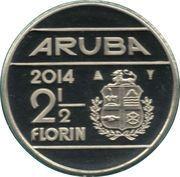 2½ Florin - Willem-Alexander – revers