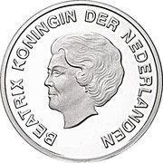 5 Florin - Beatrix (Jeux Olympiques 2012) – avers