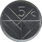 5 cents - Beatrix -  revers