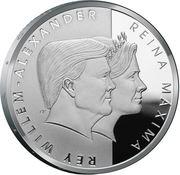 5 Florin - Willem-Alexander (Visite royale) -  avers