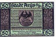 50 Pfennig (Arys) – avers