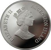50 Pence - Elizabeth II (3ème effigie ; Reine mère) – avers