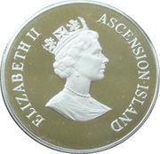 50 Pence Elizabeth II (The Queen Mother) 1995 Piedfort – avers