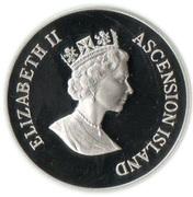 50 pence - Elizabeth II (3eme effigie - reine mère) – avers