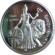 1 Crown - Elizabeth II – revers