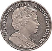 1 Crown - Elizabeth II – avers