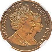 5 Crowns - Elizabeth II – avers