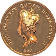 5 Crowns - Elizabeth II – revers