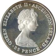 25 Pence (Crown) – avers