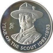 25 Pence (Crown) – revers