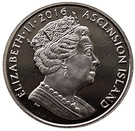 1 Crown-Elizabeth II ( 90th Birthday of Her Majesty Queen Elizabeth II) – avers