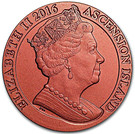1 CROWN 2016 - 175th Anniversary Penny Red – avers