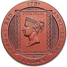 1 CROWN 2016 - 175th Anniversary Penny Red – revers