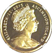 1 CROWN 2015 - Napoleon Bonaparte (Gold) – avers