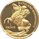 1 CROWN 2015 - Napoleon Bonaparte (Gold) – revers