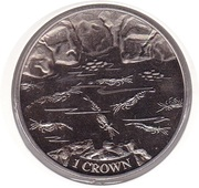 1 Crown - Crevettes – revers