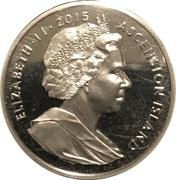 1 Crown - Elizabeth II (275th Anniversary Composition Rule Britannia) – avers