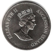 50 pence - Elizabeth II (3eme effigie - Frégate) – avers