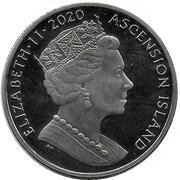 1 Crown - Elizabeth II (150th Anniversary of Charles Dickens) – avers