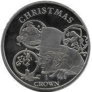 1 Crown - Elizabeth II (150th Anniversary of Charles Dickens) – revers