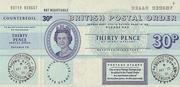 30 Pence - Postal Order – avers