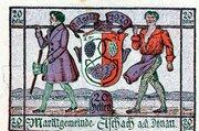 20 Heller (Aschach a. d. Donau; Violet issue) -  avers