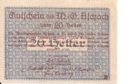 20 Heller (Aschach a. d. Donau) -  revers
