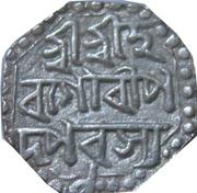 ½ Rupee - Lakshmi Simha (Sunyeopha) – revers