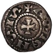 1 Denaro (1141-1220) – revers