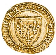 1 Scudo d'oro della Corona - Carlo d'Orléans – avers