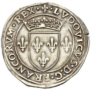 ½ Testone - Ludovico XII d'Orléans – avers