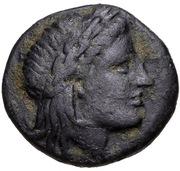 Bronze Æ17 (Atarnios) – avers
