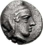 Hemiobol (Atarnios) – avers