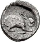 Hemiobol (Atarnios) – revers