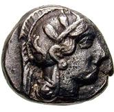 Triobol (Athens) – avers