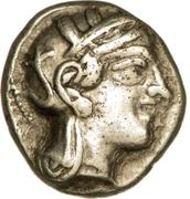 Drachme d'Athènes – avers