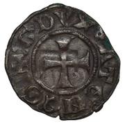 Denier - William I de la Roche (Thebes mint) – avers