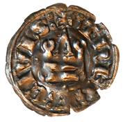 Denier Tournois - Guy II de La Roche (THEBE CIVIS) – revers
