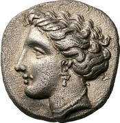 Hemidrachm (Atrax) – avers
