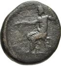 Bronze Æ15 (Attaleia) – revers