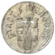 10 pfennig - Attendorn – avers