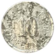 10 pfennig - Attendorn – revers